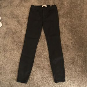 Pac-sun mid-rise skinny jeans size 25